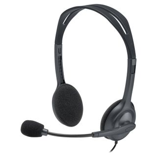 LOGITECH / Headphones with microphone (headset) H111, wired, 1.8 m, with headband, silver