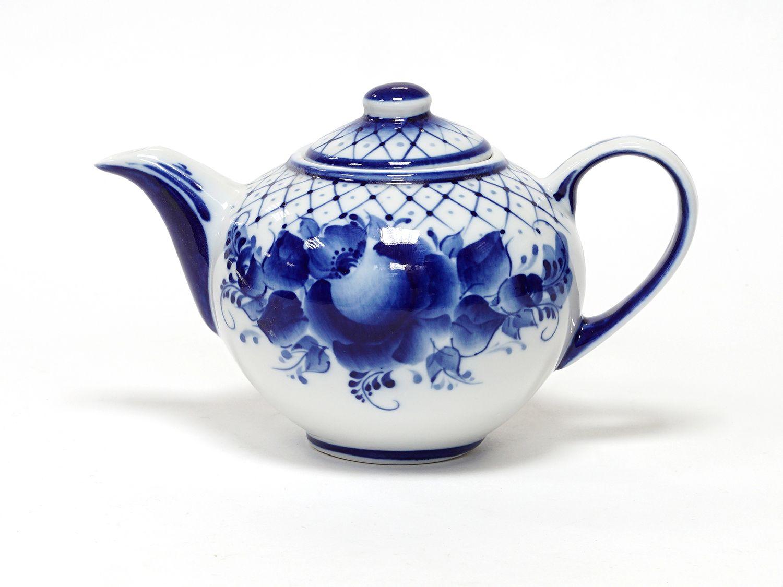 Dulevo porcelain / Teapot 550 ml Lucky Flowers