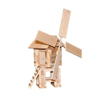 Children's Wooden Designer Windmill is an educational children's game for children aged 5 years