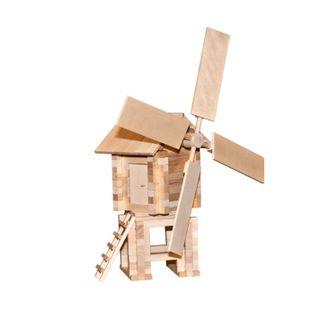 Children's Wooden Designer Windmill is an educational children's game for children aged 5 years