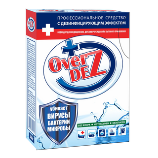 Universal powder with OverDez 300 g disinfectant effect