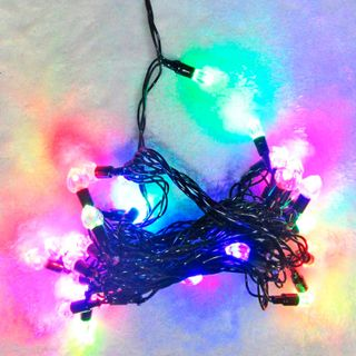 Merry round dance / LED electric garland