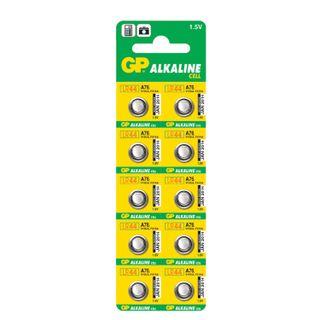 GP / Battery Alkaline, A76 (G13, LR44) alkaline, 1 pc. in a blister (tear-off block)