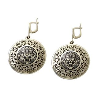 LACE LUXURY earrings made of silver