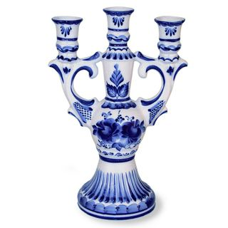 Chandelier 2nd grade, Gzhel Porcelain factory