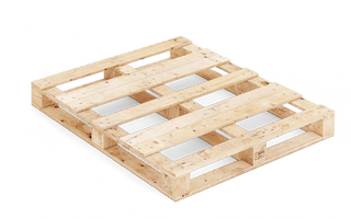Pallet wood FIN MP 120x100