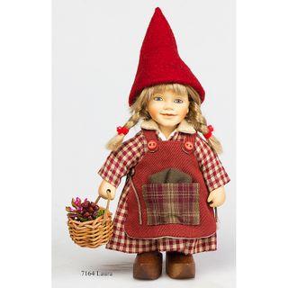 """Porcelain doll Birgitte Frigast """"LAURA"""" 22 cm"""