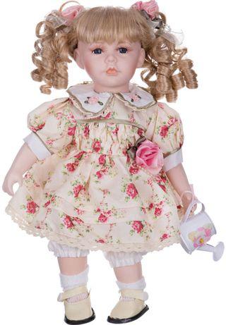 Porcelain doll floral dress