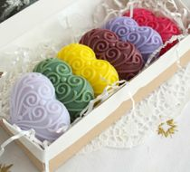 Set of soap Berry Hearts 6 pieces