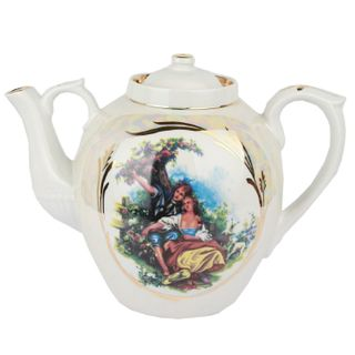 Dulevo Porcelain / Teapot 4500 ml Russian Mother of Pearl