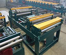 Equipment for cutting of rolled metal