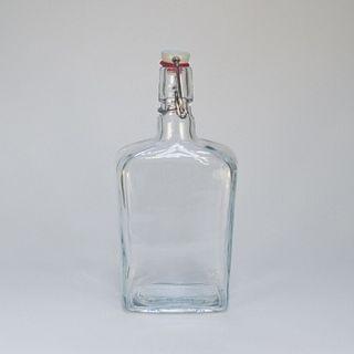 Bottles made of glass