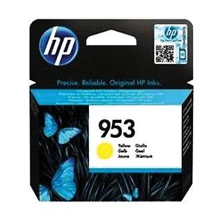 HP (F6U14AE) Officejet Pro 8710/8210, # 953, yellow inkjet cartridge, yield 700 pages, original