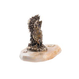 "Figurine ""Hedgehog"" on the stone"
