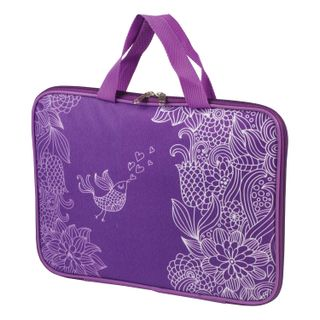 The zip folder with handles BRAUBERG, A4, cloth, with lining, sublimation, girls,