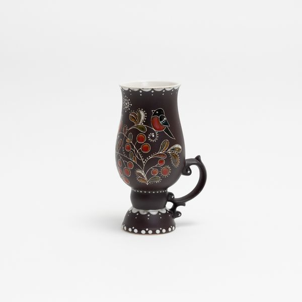 Glass ceramic for mulled wine