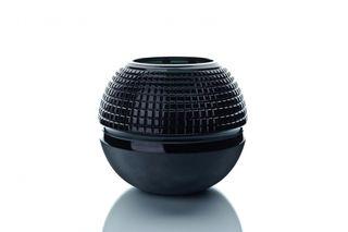 "Crystal vase for flowers ""Pauzhna"" large smoky"