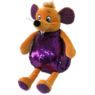 "New Year's gift Mouse ""Violet"" + a set of sweets1200g."