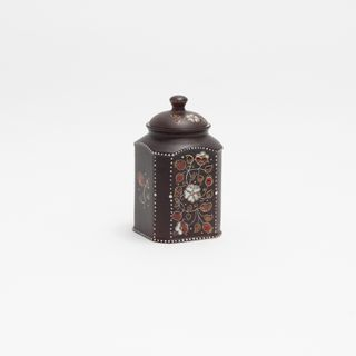 "Coffee Bank ""wildflowers"" ceramic"