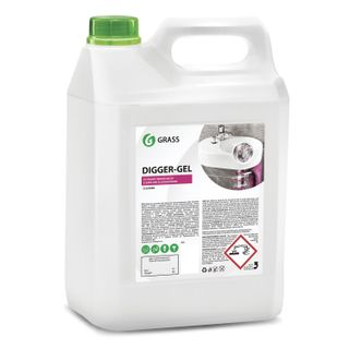 5.3 kg GRASS DIGGER-GEL sewer cleaning, gel, alkaline