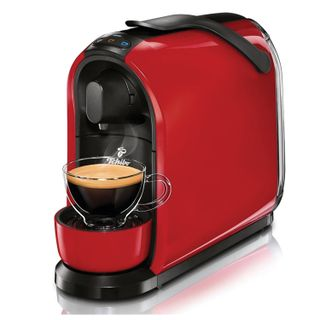 TCHIBO Cafissimo PURE Red, 950 Watt, 1.1 litre, red