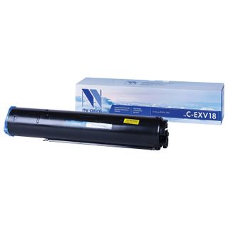 Toner NV PRINT (NV-C-EXV18) for CANON iR-1018/1022/2020, 465 g, yield 8400 pages.