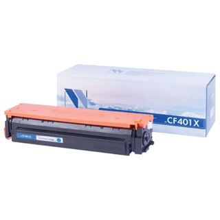 Toner Cartridge NV PRINT (NV-CF401X) for HP M252dw / M252n / M274n / M277dw / M277n, cyan, yield 2300 pages