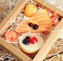 Set of soap gift Peach-Almond
