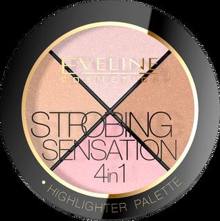 Set contouring 4in1 series strobing sensation, Eveline, 12 g