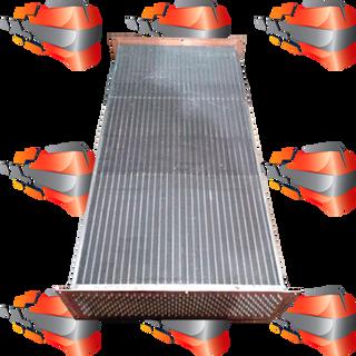Intercooler - heat exchanger for radiator coolers
