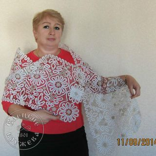 Scarf womens lace С665
