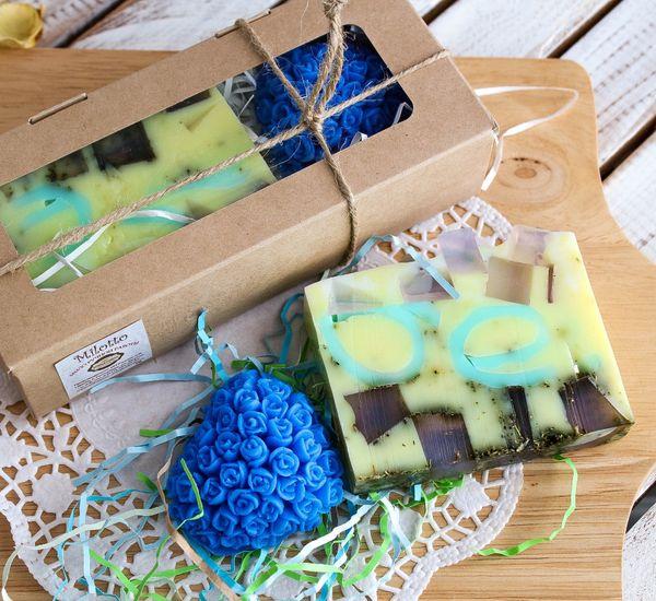 Set of handmade soap Flower fantasy