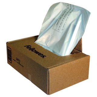 FELLOWES bags for shredders, 165 l, set of 50