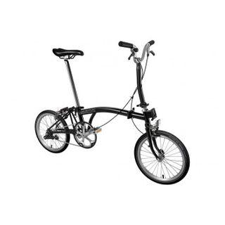 Brompton M1E 2020 Folding Bike Black