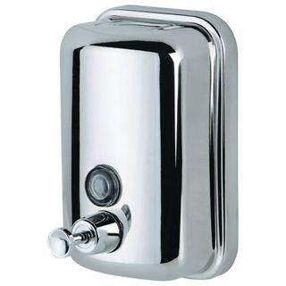 KSITEX / Liquid soap dispenser, stainless steel, mirror, 0.8 l