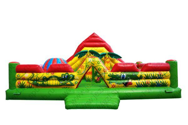Inflatable trampoline 'Volcano'