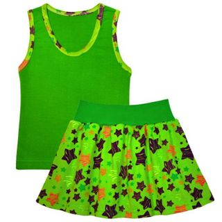 Set for girls (T-shirt, skirt)