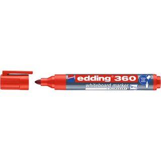 Edding / Whiteboard marker, round nib, 1.5-3mm Red