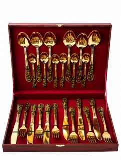 "Set table ""Gold of Russia"", 24 subject"