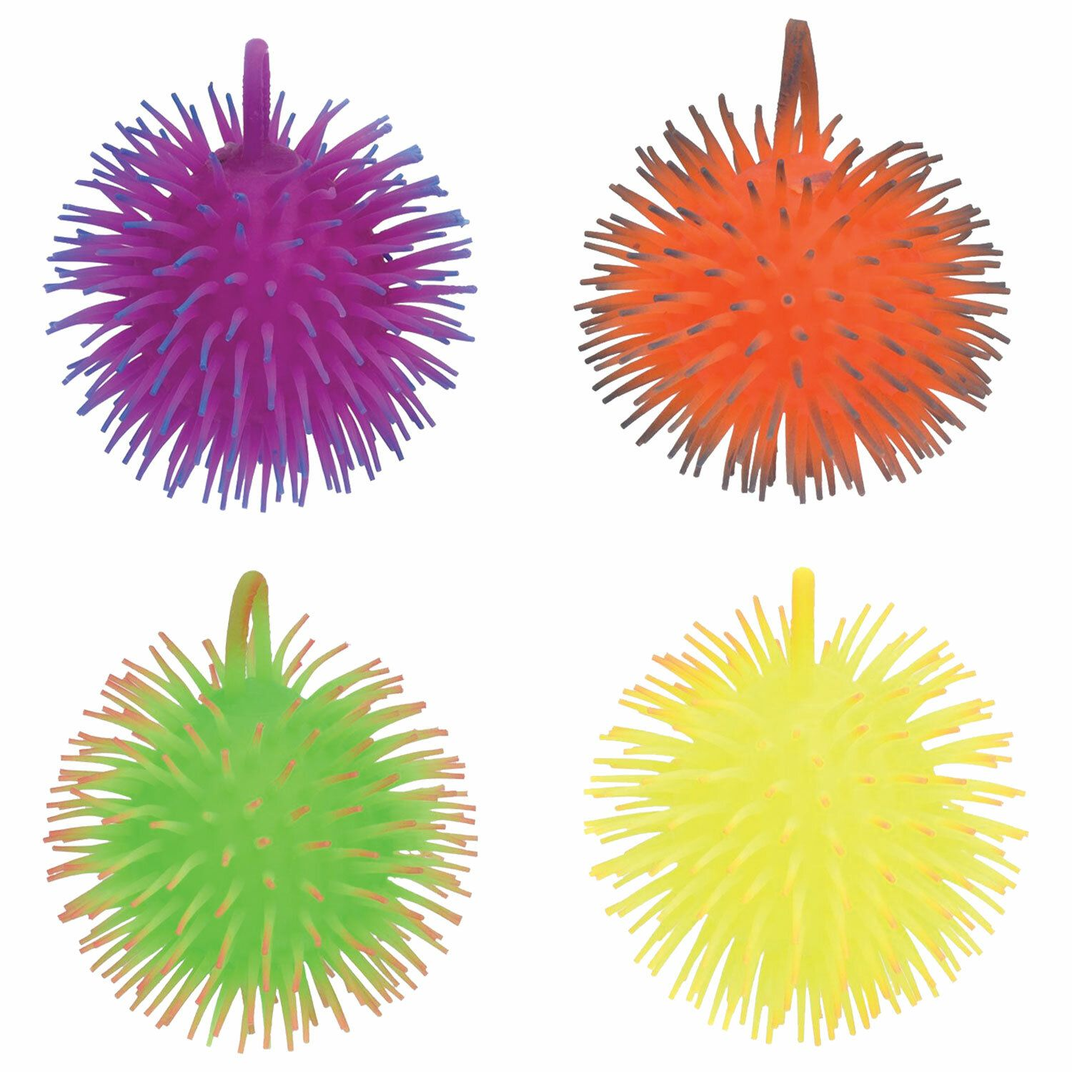 """Toy-anti-stress Yu-Hedgehog """"Light"""", 13 cm, assorted colors, display, 1TOY"""