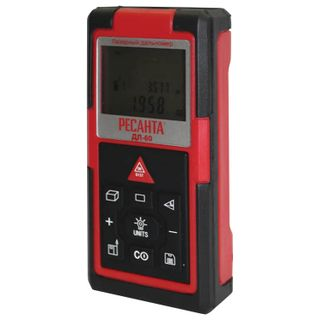 RESANTA / Laser range finder DL-60, measurement range from 0.05 m to 60 m