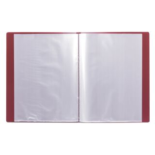 Folder 20 liners BRAUBERG standard, red, 0.6 mm