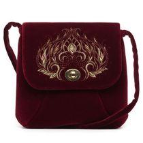 Velvet bag 'Aida'