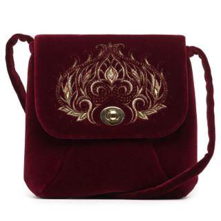 """Velvet bag """"Aida"""""""