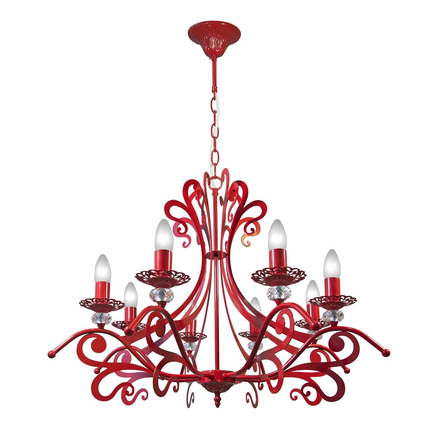 PETRASVET / Pendant chandelier S3129-8, 8xE14 max. 60W