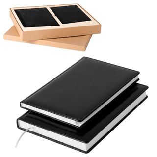 A set of GALANT Standard (A5 diary, phonebook A5), black