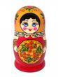 Khokhloma matryoshka 10 dolls - view 2