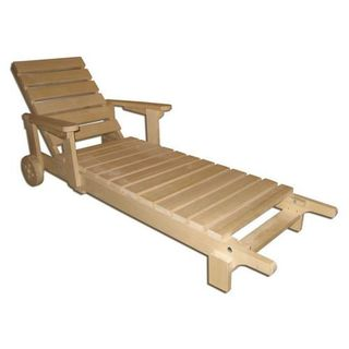 Goods for bath and sauna - Sunbed on wheels