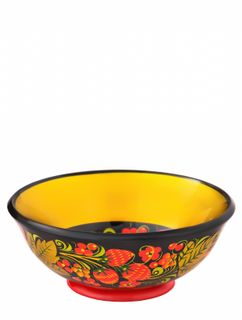Khokhloma painting / Cup 70x175 mm