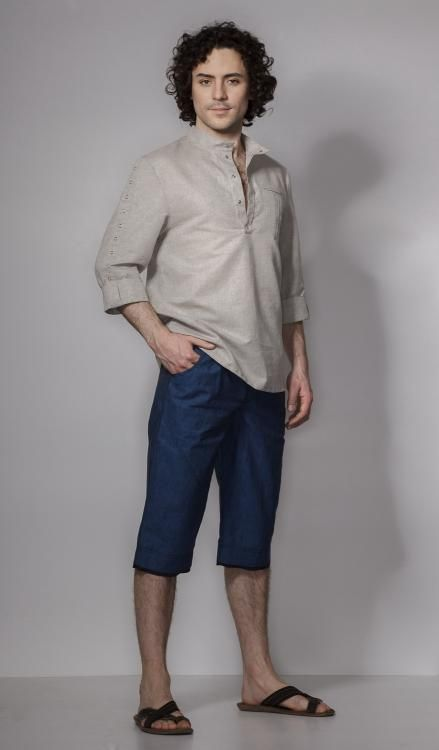 "Shorts men's ""Motive of life"""